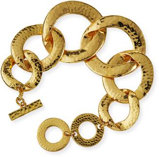 Nest Jewelry Hammered Chain Bracelet