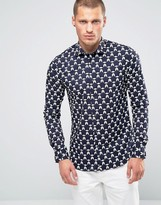 Scotch & Soda Scotch And Soda Stretch Shirt