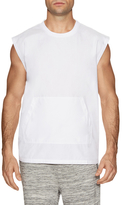 Shades of Grey by Micah Cohen Muscle Sleeve Woven Tee