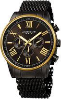Akribos XXIV Mens Black Bracelet Watch-A-919bkyg