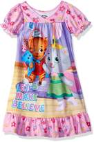 "Daniel Tiger's Neighborhood Little Girls' Toddler ""Make Believe"" Nightgown"