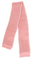 Miss Blumarine Girls' Wool-Blend Rib Knit Scarf