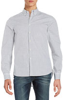 Kenneth Cole New York Checkered Sportshirt