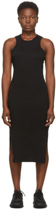 John Elliott Black Supima Midi Dress