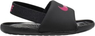 Nike Kawa Slide Shoes - Black / Vivid Pink No Color