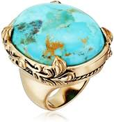 "Barse Jubilee"" Turquoise Oval Ring, Size 7"