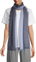 Thumbnail for your product : Eileen Fisher Ombre Wool Lightweight Scarf