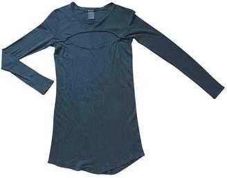 Isabel Marant Anthracite Silk Dresses