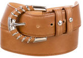 Tod's Leather Wide Belt
