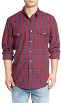 Brixton Men's Memphis Standard Fit Two-Pocket Sport Shirt