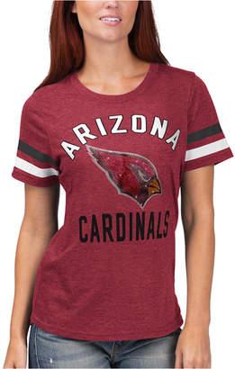 G-iii Sports Women Arizona Cardinals Extra Point T-Shirt