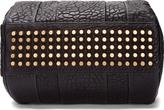 Alexander Wang Black Leather Rocco Studded Duffle Bag
