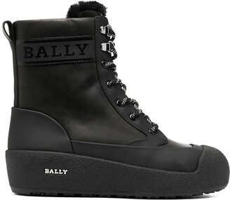 Bally Garbel lace-up boots