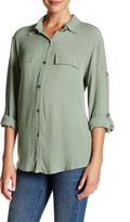 Luma Long Sleeve Hi-Lo Shirt