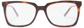 Marni Square Acetate Glasses - Womens - Tortoiseshell