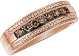 Le Vian Chocolatier Le Vian Men's 14ct Strawberry Gold Diamond Ring