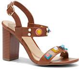 New York & Co. Studded Stacked-Heel Sandal