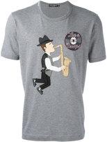 Dolce & Gabbana saxophonist patch T-shirt