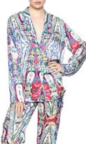 Beautiful Bottoms Silk Pajama Top