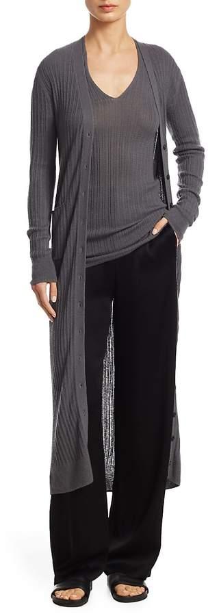 Vince Women's Cashmere Long Cardigan
