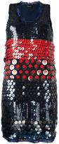 Twin-Set sequin embellished dress - women - Polyester - 40