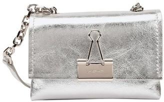 Off-White Clip Binder bag