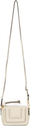 Chloé White Mini Marcie Shoulder Bag