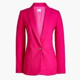 J.Crew Petite linen-cotton Holland blazer