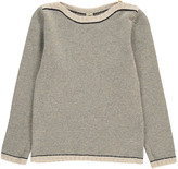 Bonton Two-Tone Merino Wool Jumper