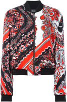 Just Cavalli paisley patterned bomber