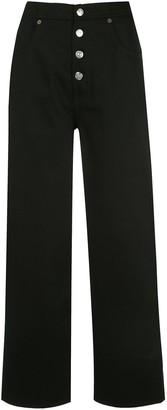 MM6 MAISON MARGIELA Straight-Leg Cropped Jeans