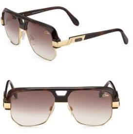 Cazal Women's Aviator Sunglasses - Havana