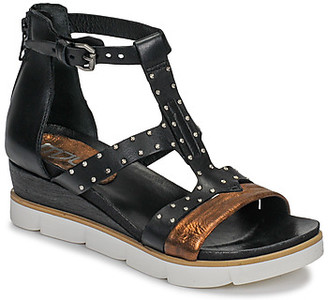 Mjus TAPASITA CLOU women's Sandals in Black