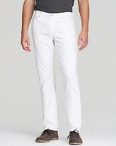 AG Jeans Graduate New Tapered Fit in White