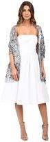Betsey Johnson Paillette Sequin Tulle Wrap Women's Clothing