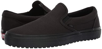 Vans Made For The Makers Classic Slip-Ontm UC ((Made For The Makers) Black/Black/Black) Athletic Shoes