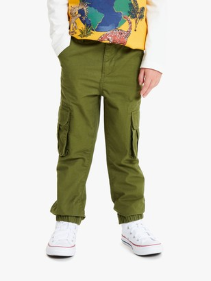 John Lewis & Partners Boys' Cuffed Cargo Trousers