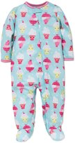 Little Me Baby Girls Ice Cream Sleeper Footed Pajamas