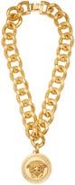 Versace Gold Medusa Medallion Necklace