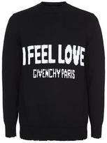 Givenchy I Feel Love Jumper