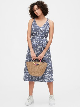 Gap Knotted Cami Midi Dress