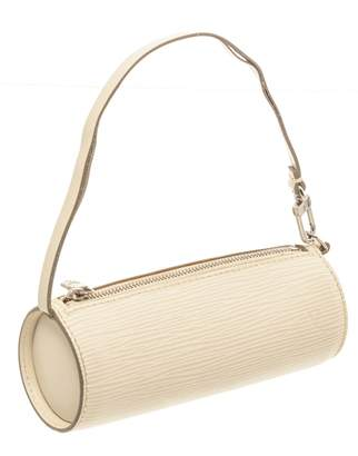 Louis Vuitton White Leather Clutch bags