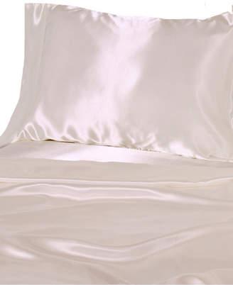 Luxury Satin Solid Queen Sheet Sets Bedding