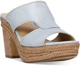 Naturalizer Evette Espadrille Slide Sandals