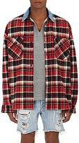 Fear Of God Men's Plaid Cotton Flannel Oversized Shirt