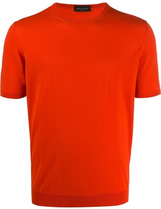 Roberto Collina fine knit crew neck T-shirt