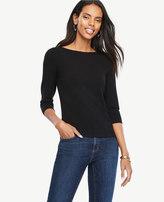 Ann Taylor Petite Bateau Sweater