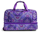 Vera Bradley Lighten Up Wheeled Carry-On Duffel