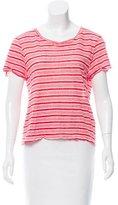 A.P.C. Linen Short Sleeve T-Shirt