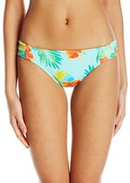 Hobie Women's Tropical Locales Sash Side Hipster Bikini Bottom